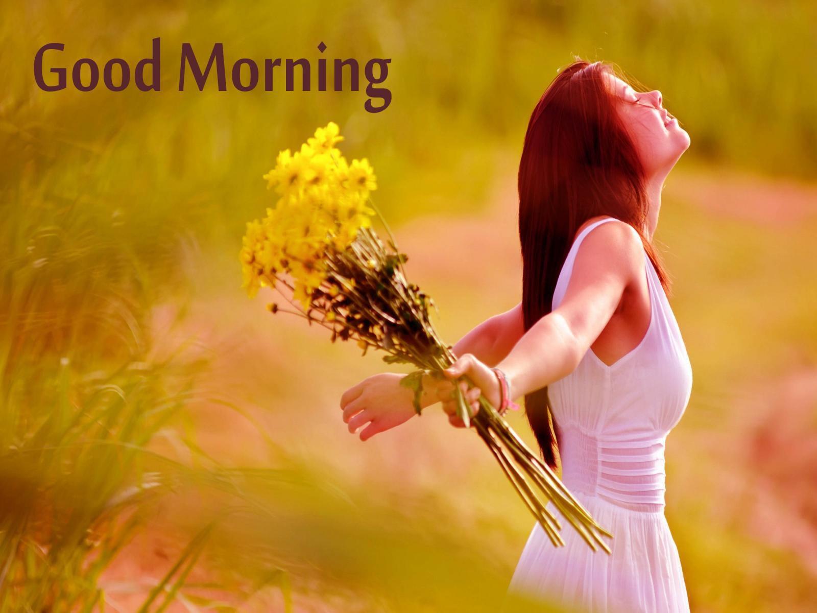 Good Morning With Beautiful Girls Hd Wallpaper Happy Good Morning