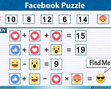 Facebook Emoji Puzzle