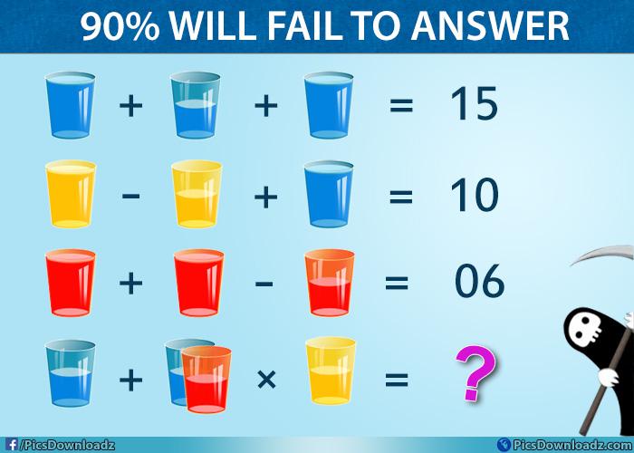 Genius Math Puzzle Image