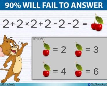 Cherry Math Puzzle Image