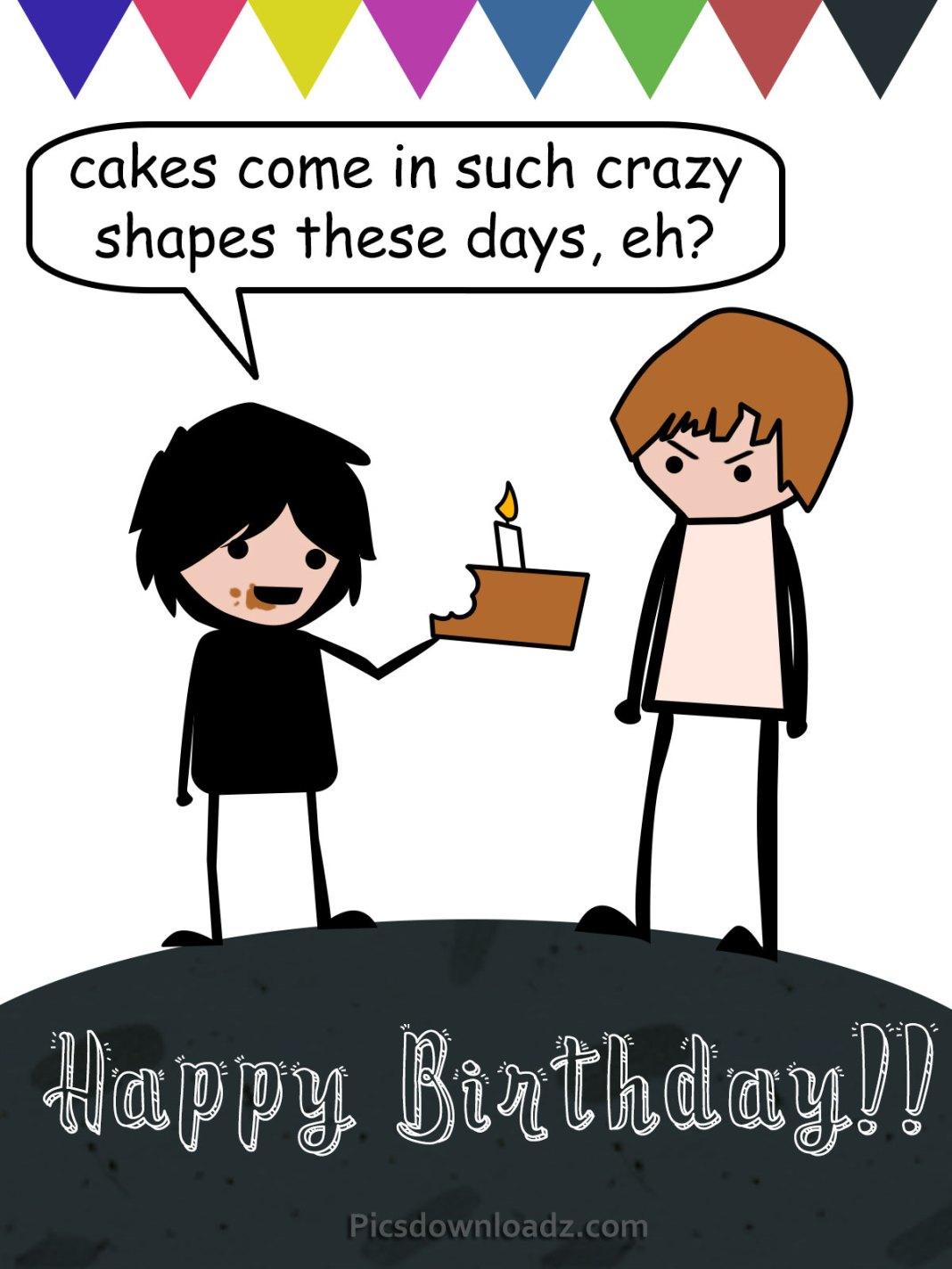 funny happy birthday wishes