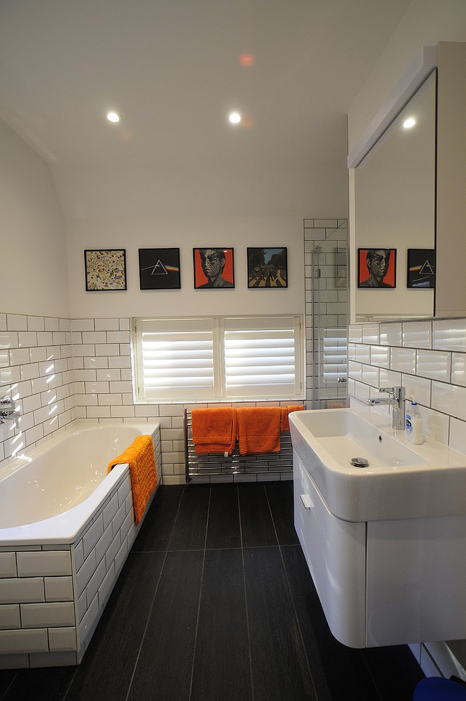 salle de bain carrelage metro simple carrelage mtro with salle de bain carrelage metro. Black Bedroom Furniture Sets. Home Design Ideas