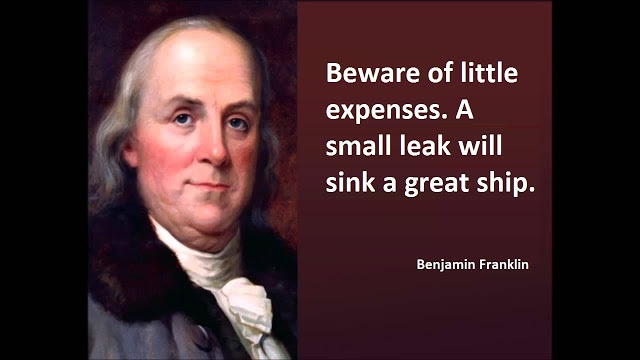 beware-of-little-expenses-a-small-leak-will-sink-a-great