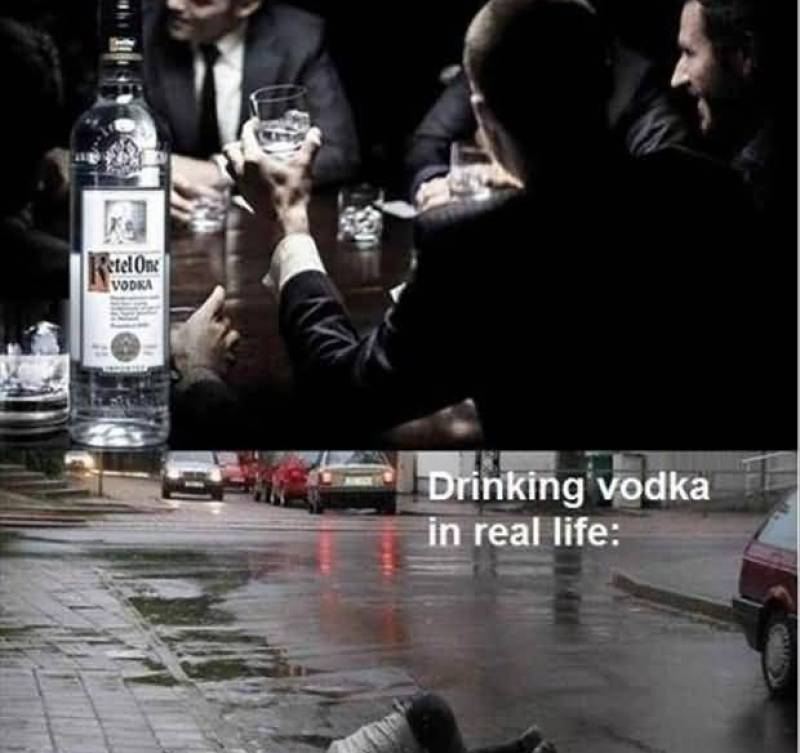 drinking-vodka-in-commercials-drinking-vodka-in-real-life