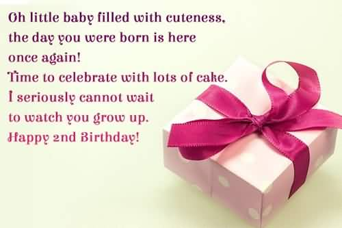 Amazing 2nd Birthday Wishes For Little Baby Boy
