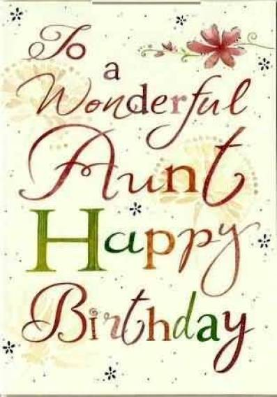 Amazing Birthday Greeting Card For Great Aunt