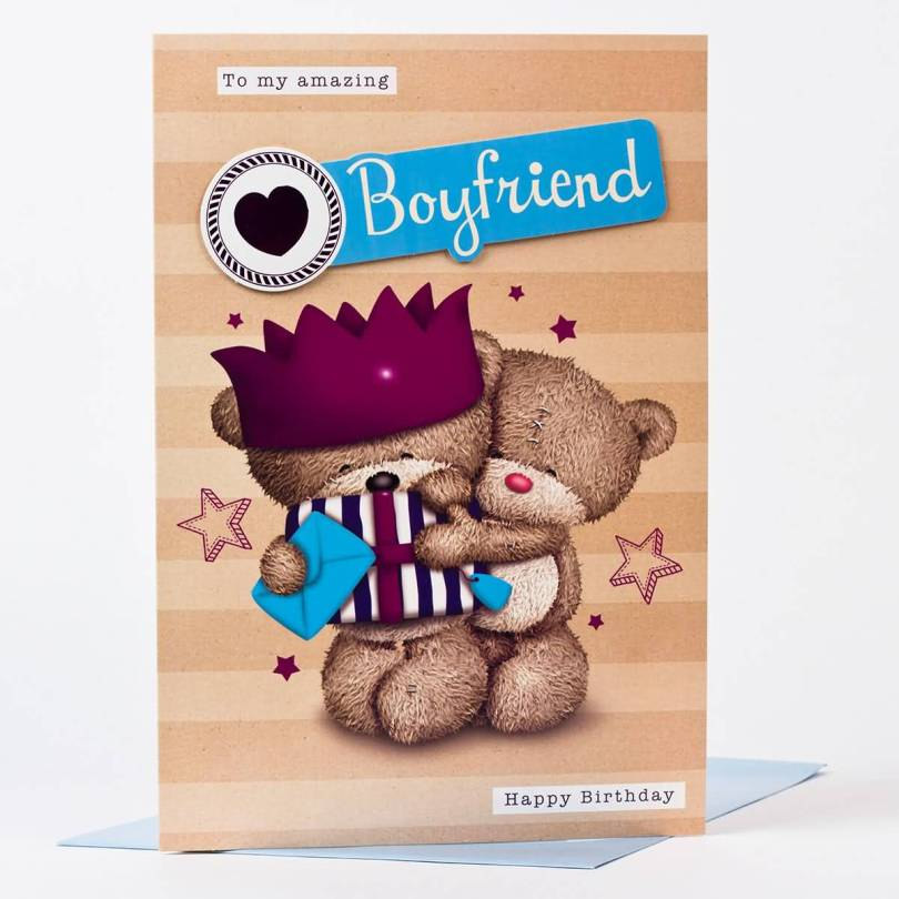 Amazing Birthday Wishes Card For Handsome Boyfriend