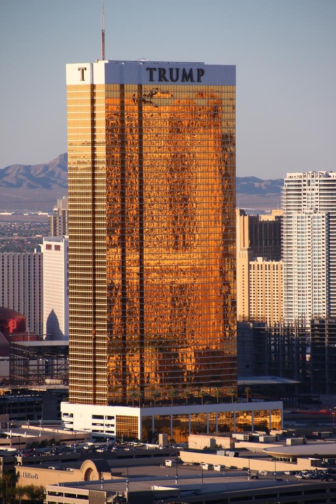 Amazing View Of Las Vegas Trump Hotel 4k Wallpaper