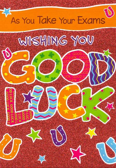 As You Take Your Exams Wishing You Good Luck Picture