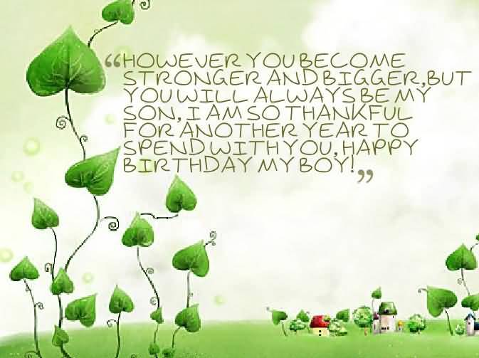 Awesome Birthday Greeting Message For Baby Boy
