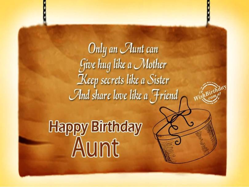 Awesome Birthday Greetings For Sweet Aunt