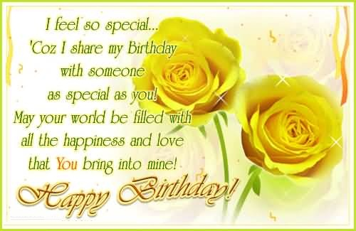 40 Someone Special Birthday Wishes Photos ECards – Special Birthday Greeting