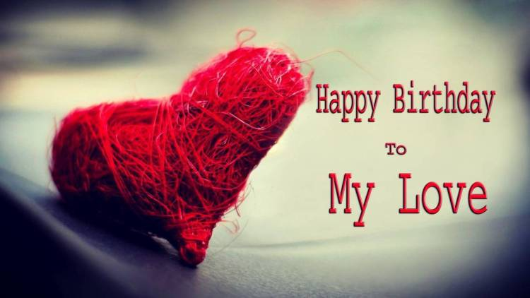 Awesome Heart Birthday Wishes To Gorgeous Girlfriend