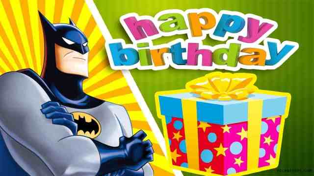 Batman Birthday Wishes Image
