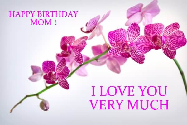 Beautiful Birthday Wishes E Card For Great Mom