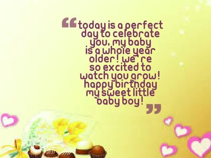 Beautiful Birthday Wishes For Sweet Baby Boy
