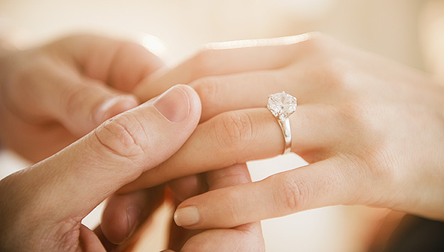 Beautiful Engagement Wishes Ring Ceremony Image
