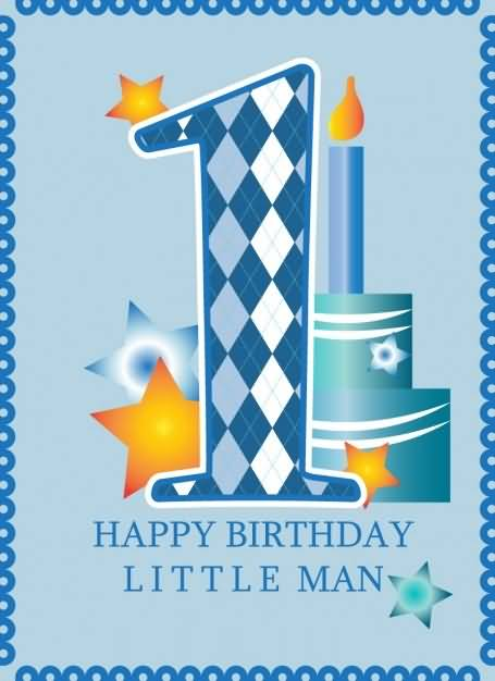 Beautiful First Birthday Wishes For Baby Boy