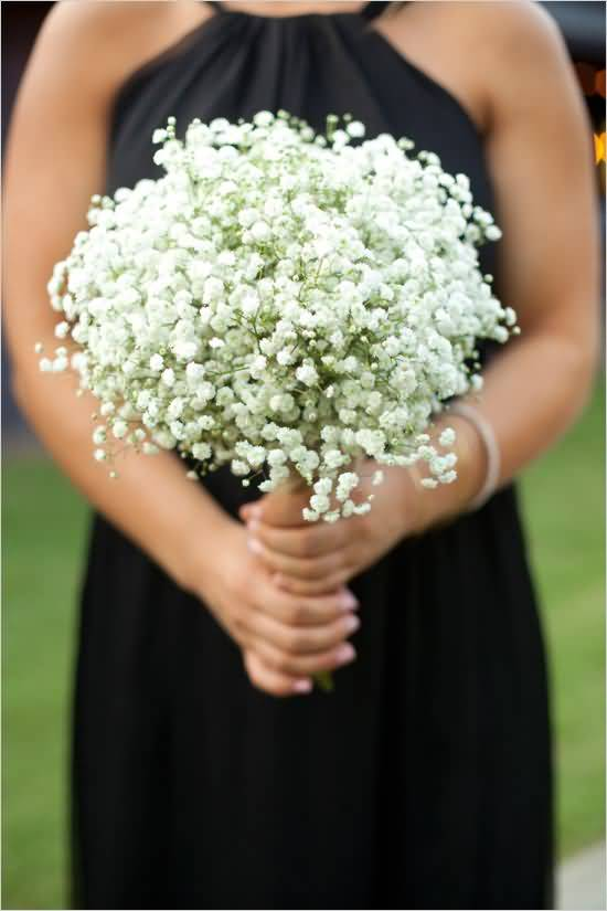 Best Baby's Breath Flowers In Women Hands