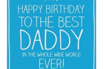 Best Daddy Happy Birthday