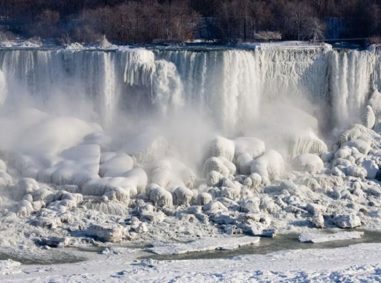 Best Wallpaper Of Niagara Falls Solid Frozen For Desktop Wallpaper