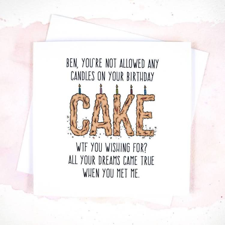 Birthday Card Message To Dear Boyfriend Birthday Greeting