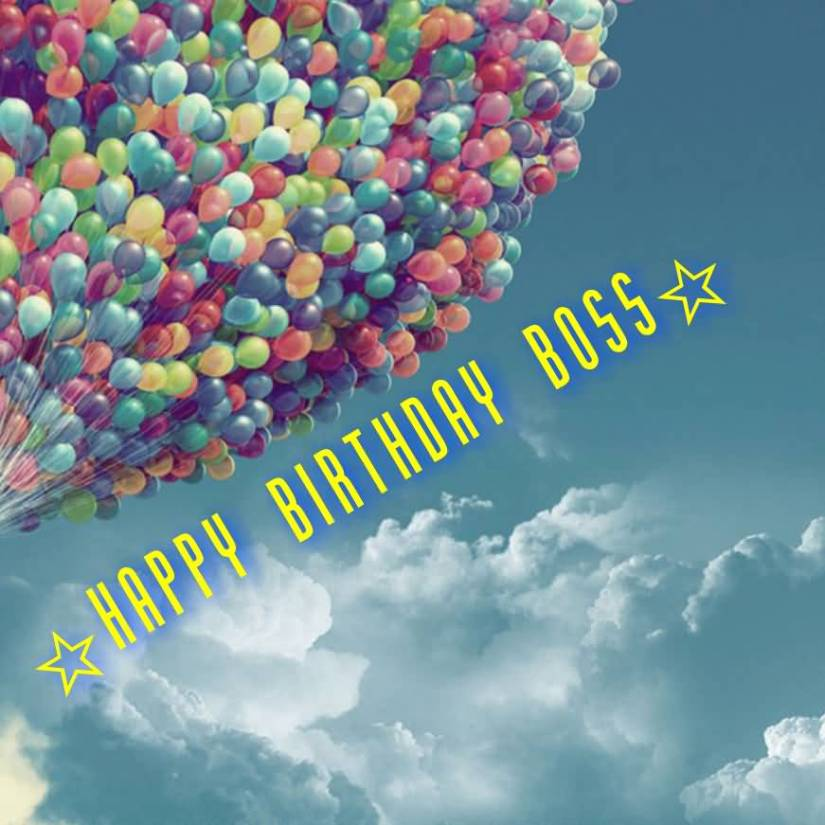 Birthday Greetings For Awesome Boss