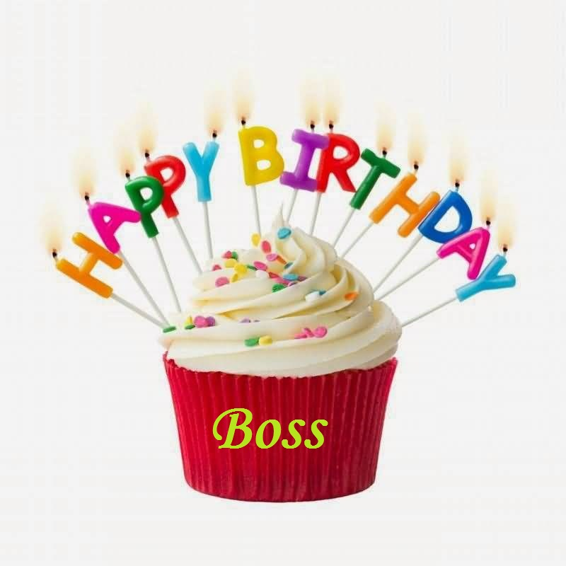 Birthday Wishes Card For Boss