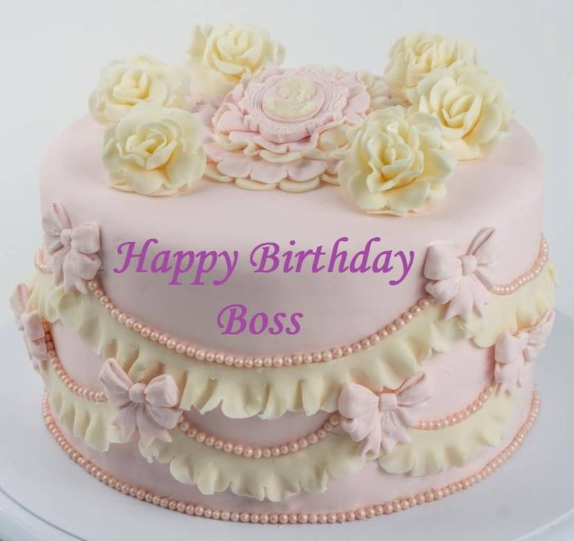 Boss Birthday Cake