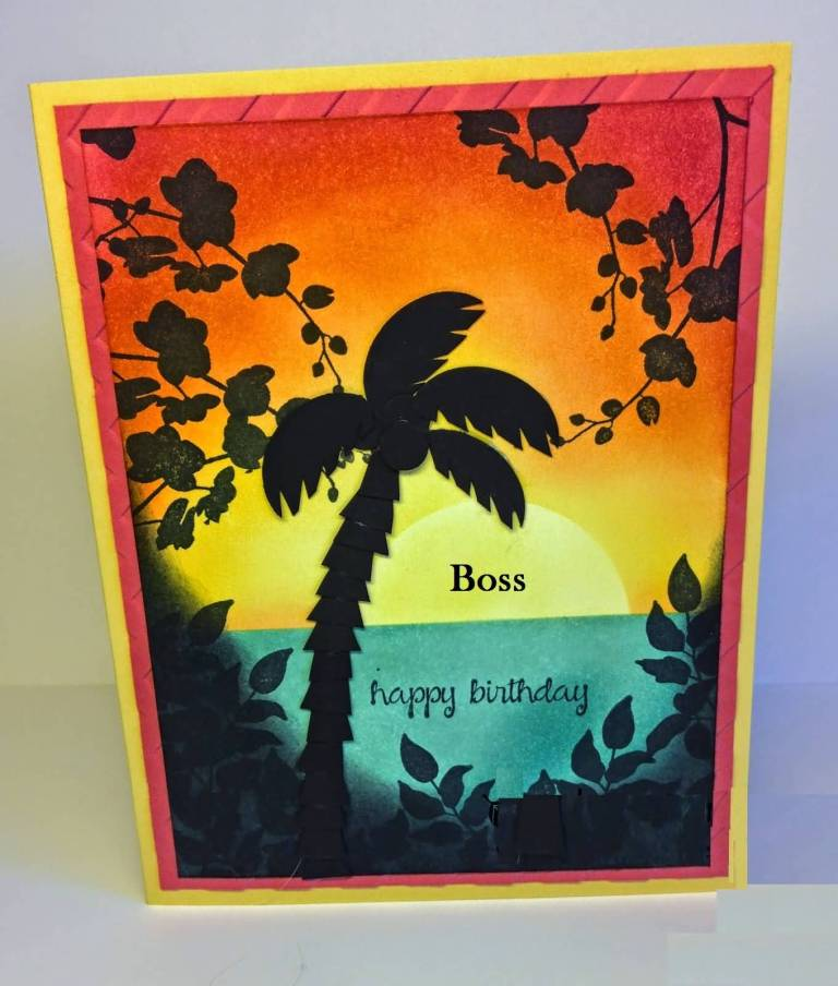 Boss Birthday Greetings Card