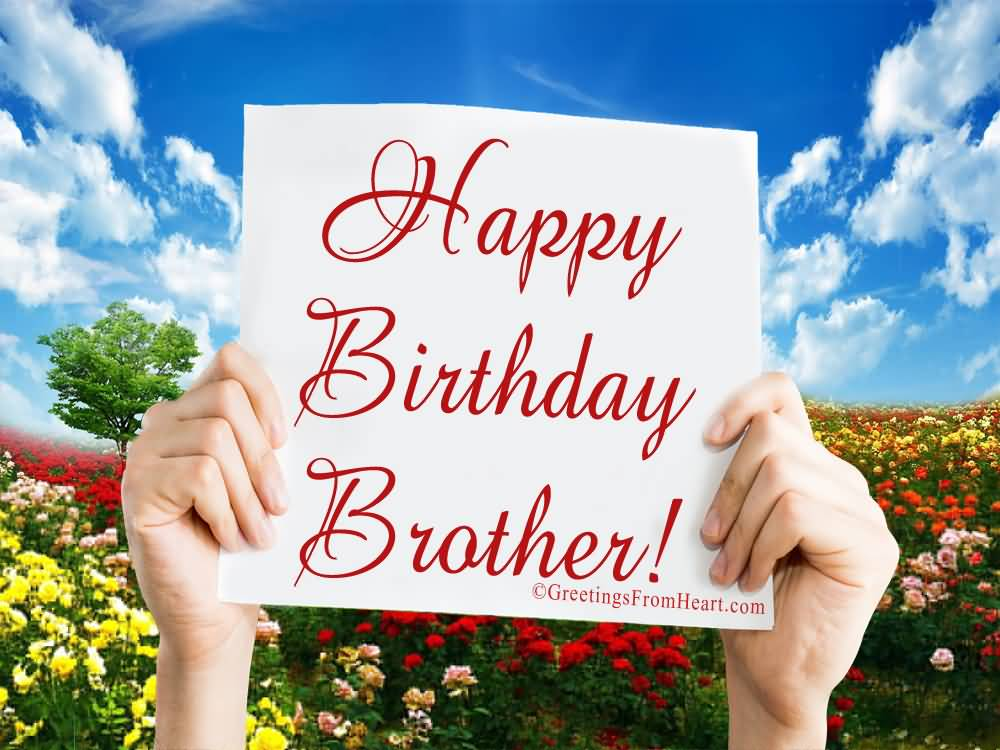 25 Best Brother Happy Birthday Wishes For All The Brothers ...
