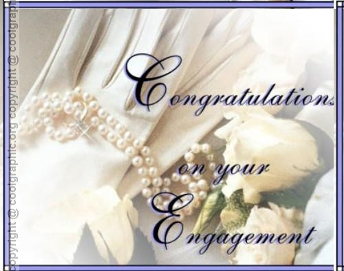 42 Congratulation On Engagement Greetings Images