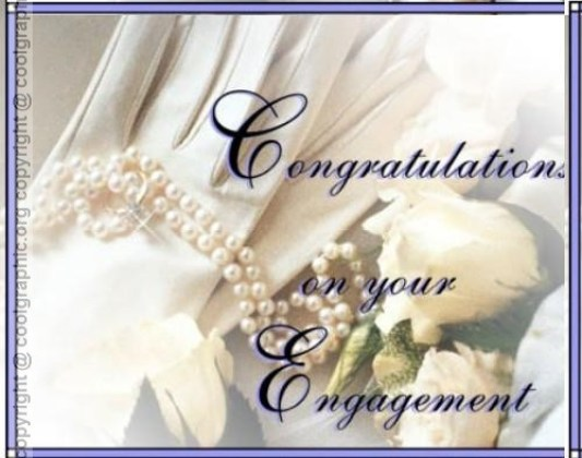 Congratulations On Your Engagement Card Image