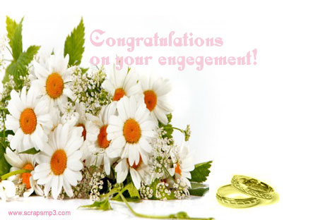 Congratulations On Your Engagement Flowers Image