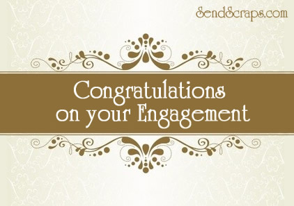 Congratulations On Your Engagement Greeting