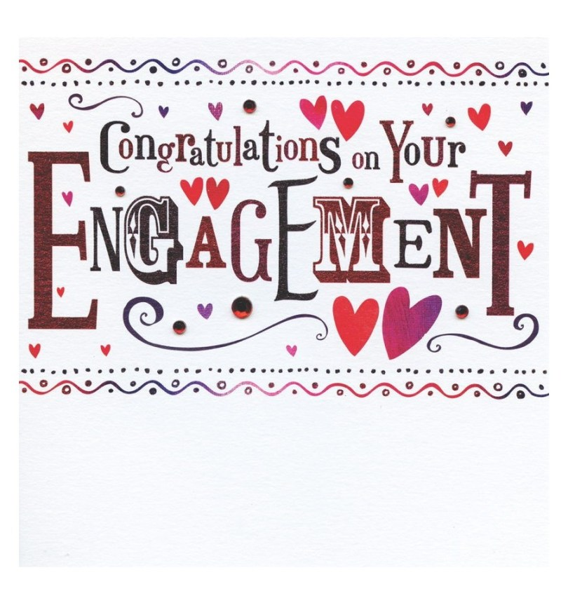 Congratulations On Your Engagement Greeting E Card