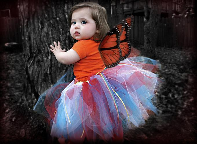 Cute Baby Butterfly Costume