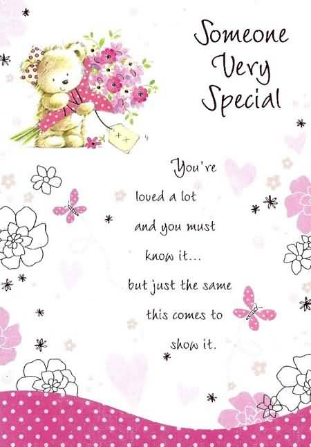 30 Someone Special Birthday Greetings Wishes Sayings – Cute Birthday Card Sayings