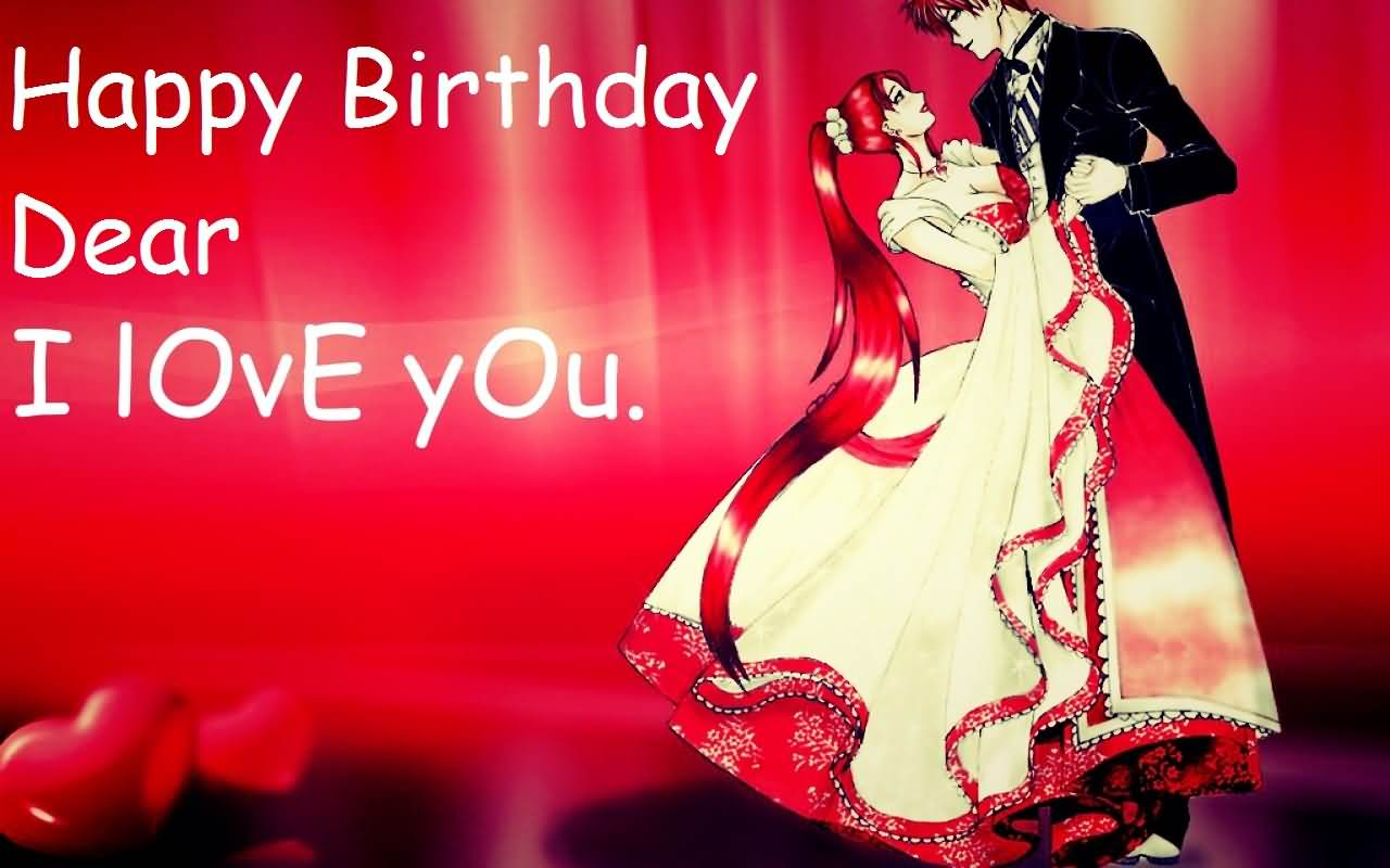 Birthday Wishes Lovers ~ Romantic love birthday wishes greeting picture photo picsmine