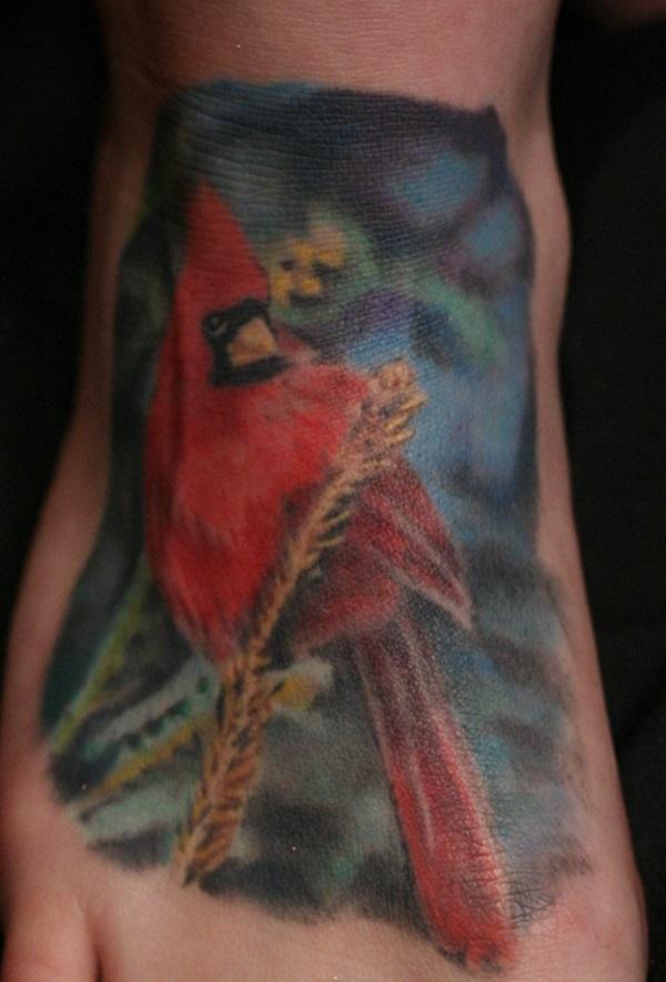 252a7fec02f1e 34 Versatile Cardinal Tattoo Designs, Ideas, Pictures & Photos ...