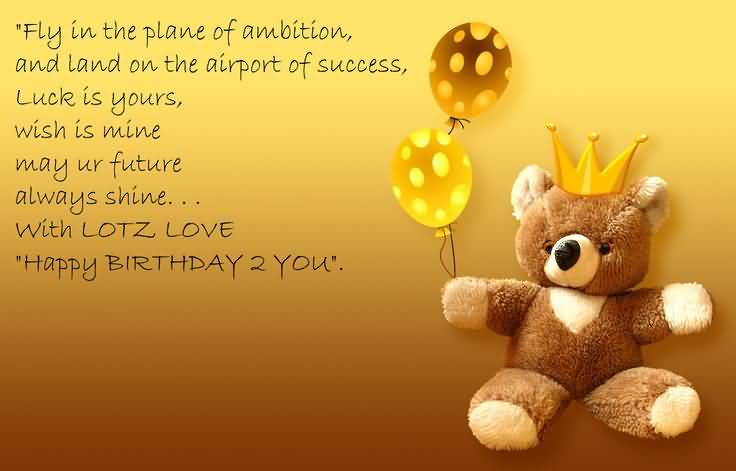 Cute Teddy Birthday Wishes For Someone Special (2)