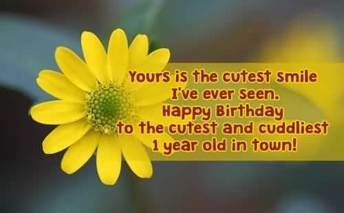 Cutest Birthday Wishes For Baby Boy