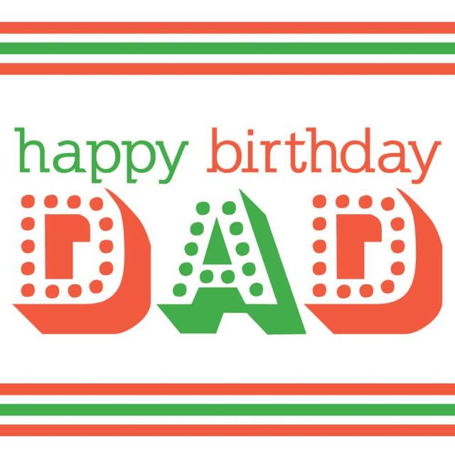 Dad Best Birthday Wishes Image