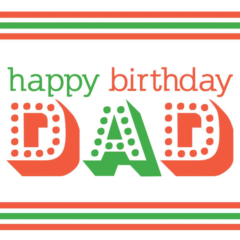 Dad Best Birthday Wishes Image