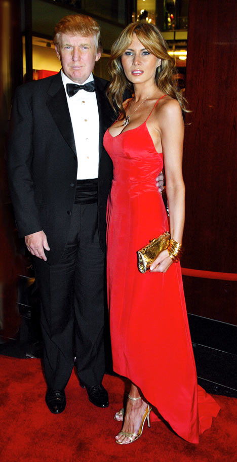 Donald Trump With His Hot Wife