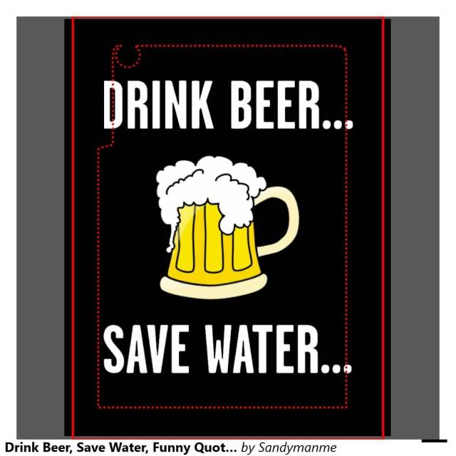 Drink Beer Save Water