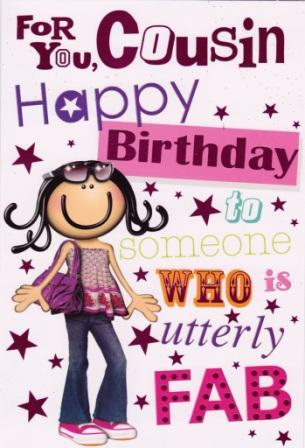 Fabulous Birthday Greeting E Card For Sister Cousin
