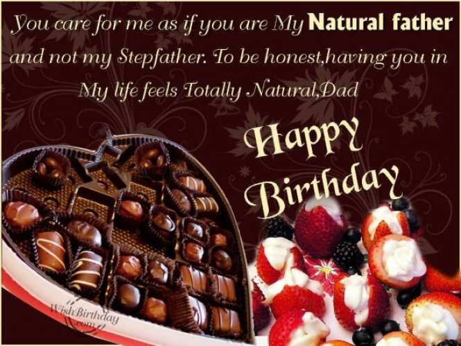 Fabulous Happy Birthday Father Greeting Image