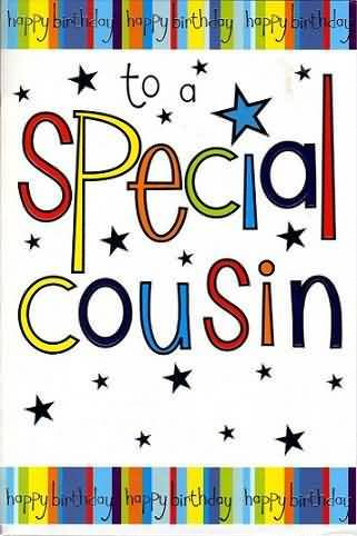 For A Very Special Cousin Birthday Card
