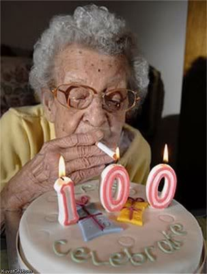 Funny Grandma 100 Birthday Celebration Image